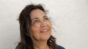 Den algerisk-fransk-israeliska judinnan Patricia Cohen under Lag Baomer på Djerba 2018.