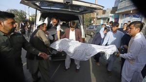 Självmordsattentat i Kabul