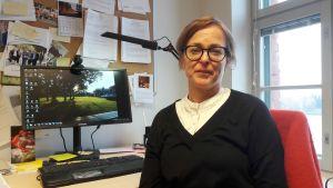 Fredrica Nyqvist, lektor i socialpolitik på Åbo Akademi i Vasa.