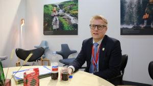 Miljöminister Kimmo Tiilikainen