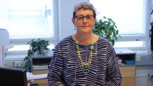 Kulturdirektör Tuula Haavisto.