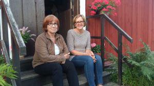 Alice Öster och Ulla Pesonen har inte traditioner kring kräftor.