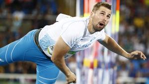 Antti Ruuskanen har mästerskapsrutin i mängder.