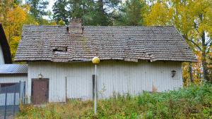 En gammal hönsgård.