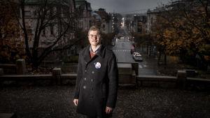 porträttbild på  Sebastian Sandström