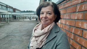 Antonina Carlberg är ansvarig för skolhälsovården i Kyrkslätt.