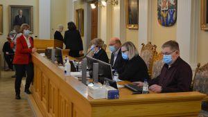Jakobstads stadsfullmäktige sammanträder.