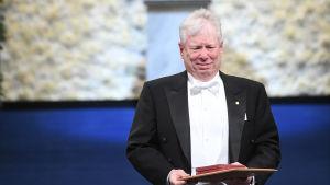 Richard Thaler under Nobelfesten.