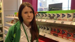 Provisor Emilia Hella talar om värkmediciner