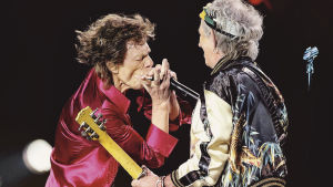 Keith Richards ja Mick Jagger konserttielokuvassa Havana Moon (2016).