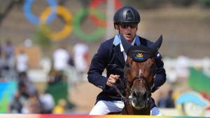 Peder Fredricson knep silver vid OS i Rio de Janeiro.