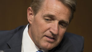 Arizonas republikanska senator Jeff Flake.