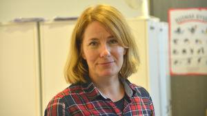Borgå stads eftiskoordinator Anne Lindholm.