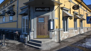 Kliffa&Klubi på Ågatan i Borgå