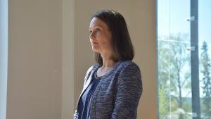 Lila Kallio, direktör för Auria Biobank.