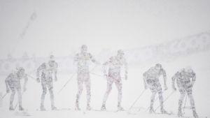 Vädret i Oberstdorf var förskräckligt.
