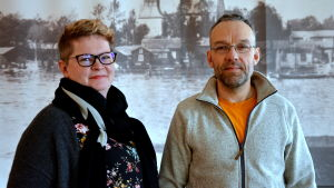 Ben Rosenlund och Annika Johansson-Rosenlund