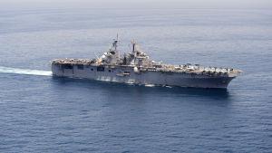 Krigsfartyger USS Boxer.