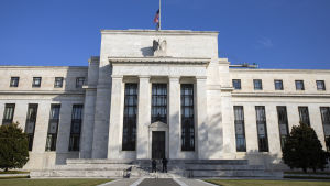 USA:s centralbanks huvudbyggnad i Washington.