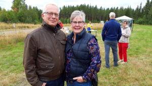 Ulf Åkerlund och Marit Stenfors.