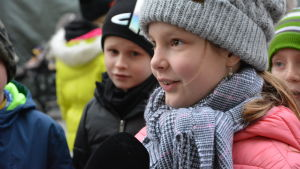Tinja Klåvus, Cygnaeus skola i Åbo