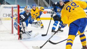 Kari Piiroinen har varit stabil i Finlands mål.