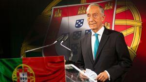 Marcelo Rebelo de Sousa försöker bli den femte presidenten som återväljs för en femårsperiod i Portugal sedan demokratin infördes år 1974.