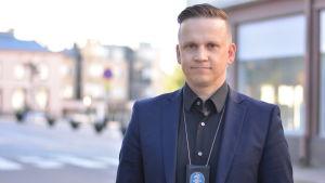 Mats Sjöholm är kriminalkommissarie i Raseborg.