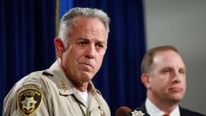 Sheriff Joseph Lombardo leder brottsutredningen i Las Vegas