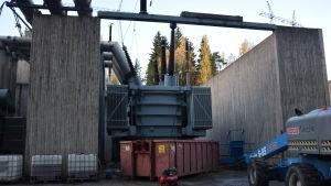 Olja och metall från Ingå kraftverks transformator ska återanvändas.