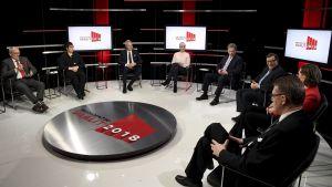 Presidentkandidaterna samlas för Mtv3:s stora presidenttenta 13 december.