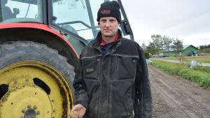 Kjell Nyström, potatisodlare i Petalax
