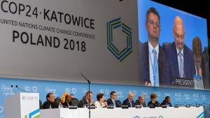 Klimatkonferensen i Polen