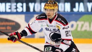 Sakari Salminen har varit poängbäst i Ässät.
