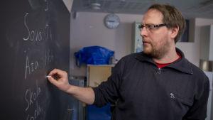 Opettaja Daniel Albrecht