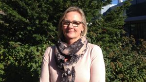 Rektor Laila Andersson.