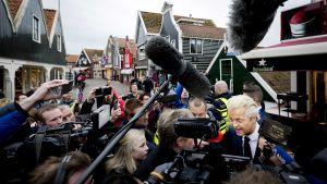 Det nederländska Frihetspartiete ledare Geert Wilders