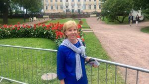 Anna-Maja Henriksson på SuomiAreena.