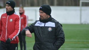 Kristian Heames tränar FF Jaro.