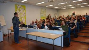 Livias kurs för insektodlare i Tuorla.