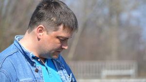 Vjatjeslav Jegorov leder miljörörelsen Min stad är ingen