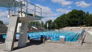 Samppalinna simstadion