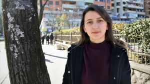 Brunilda Rica är snart färdig ingenjör och sitar på doktorstudier utomlands.