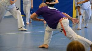 Capoeiramästaren Samara.
