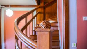 Dekorativt trappräck i Socis