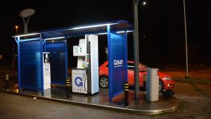 gastankstation i Borgå