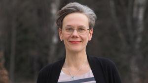 Författaren Johanna Boholm.