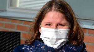 Fanny Backman - smittskyddssköterska/äldreomsorgen i Sibbo