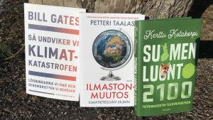 Tre böcker om klimat