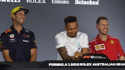 Ricciardo toppar nar hamilton kan vinna vm